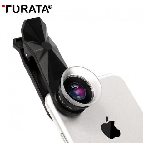 Macro telefono objektyvų 12X/24X rinkinys TURATA