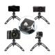 Telefono objektyvas su trikoju stovu/selfie lazda APEXEL Zoom 18x + 3-jų objektyvų rinkinys