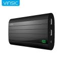 Išorinė baterija (Power bank) - nešiojamas telefono korviklis Vinsic Iron P6 20000mah,  2 X USB 2.4A