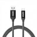 Nailoninis USB 3.0 - Type-C laidas CHOETECH 1m