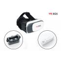 Virtualios realybės akiniai VR BOX 2 + Bluetooth pultelis (baltas)