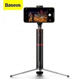 Trikojė asmenukių lazda (selfie stick) Baseus su bluetooth pulteliu