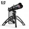 Telefono objektyvas - teleskopas su trikoju stovu ir dėklu APEXEL Zoom 28x