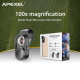 Universlus Macro objektyvs  APEXEL Microscope X100
