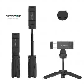 Trikojė asmeniukių lazda (selfie stick)  - stovas Blitzwolf Mini Tripod