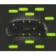 Virtualios realybės akiniai VR Shinecon 9.0 su ausinėmis ir valdymo mygtukais