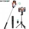 Trikojė Bluetooth asmenukių lazda (selfie stick) Blitzwolf tripod su pulteliu