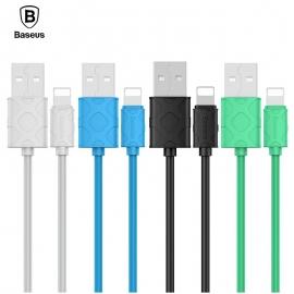 Iphone Lightning USB krovimo - duomenų perdavimo laidas BASEUS Yaven 2.1A 1m