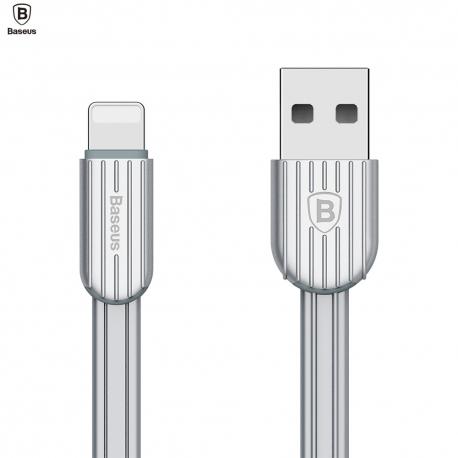 Iphone Lightning USB krovimo - duomenų perdavimo laidas BASEUS Travel 2.1A 1m