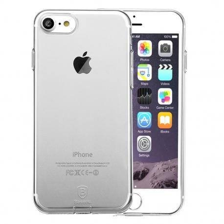 Plonas ir skaidrus Iphone 7 dėklas BASEUS Simple