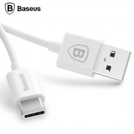 USB 2.0 - Type-C telefono krovimo - duomenų perdavimo laidas BASEUS Flash 2A 1m