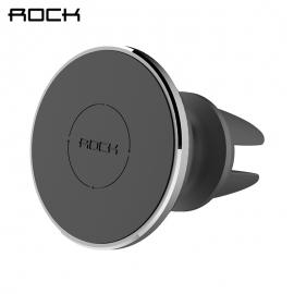 Universalus magnetinis telefono laikiklis ROCK į groteles su reguliuojama ašimi