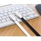 USB 2.0 - Type-C telefono krovimo - duomenų perdavimo laidas CHOETECH 2.4A 1.2m