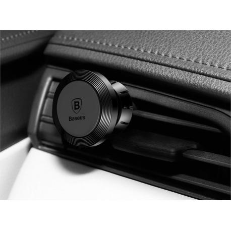 Automobilinis magnetinis telefono laikiklis BASEUS į groteles su reguliuojama galva ir gaiviklio funkcija