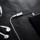 Apple Iphone Lightning - 3.5 mm AUX adapteris BASEUS su aliumininio apdaila