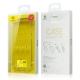 Plonas ir skaidrus Samsung S8 dėklas BASEUS Simple