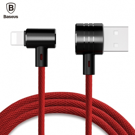 Magnetinis Android ir iOS laidas BASEUS T-type 2in1 1.2m