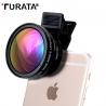 Telefono objektyvas TURATA 2in1 Macro + Wide angle lešių rinkinys