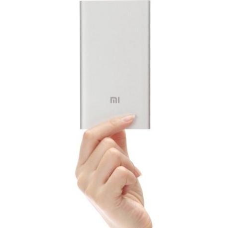 Išorinė pakraunama baterija (Power Bank) XIAOMI SLIM 5000mAh antros kartos 2.1A