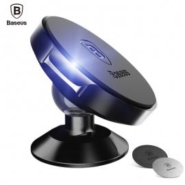 Automobilinis magnetinis telefono laikiklis BASEUS su kojele ir reguliuojama galva iš tvirto metalo