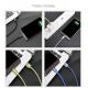 USB 2.0 - Type-C telefono greito krovimo - duomenų perdavimo laidas BASEUS 5A 1m